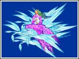 Les oiseaux lui firent un coussin de plumesEt la bercèrent doucement Jusqu'à ce que l'Ile de la Tortue puisse la recevoir