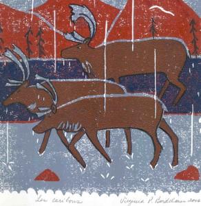 Les caribous