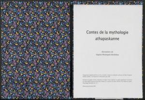 Contes de la mythologie athapaskanne